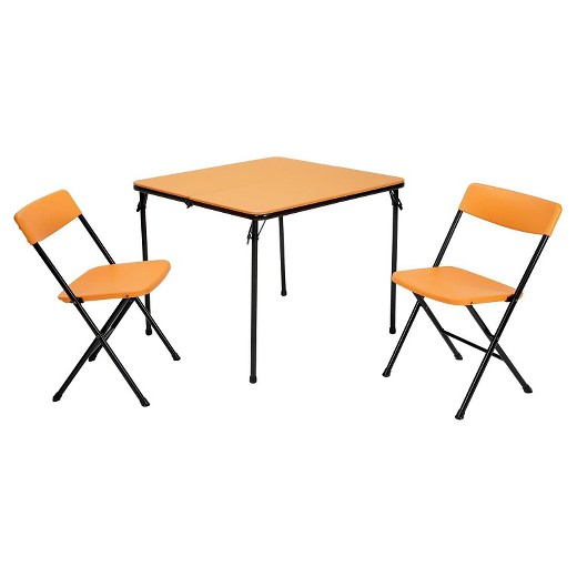 59 Table And Chair Set Walmart Cosco 5 Piece Folding: 3 Piece Indoor Outdoor Square Table And 2 Chair Tailgate