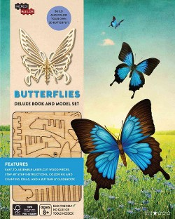 Butterflies : Explore the World Through the Eyes of a Butterfly (Hardcover) (Ruth Tepper Brown)