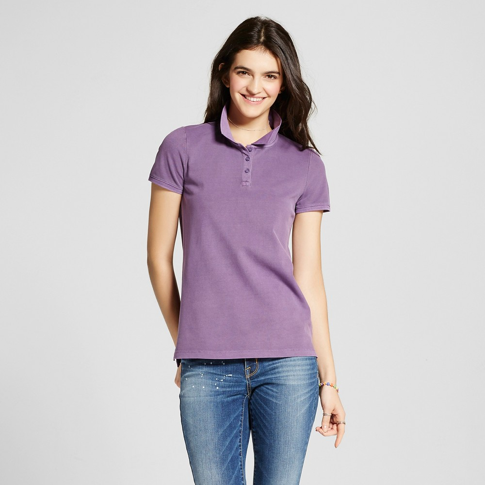 Womens Polo Shirt - Mossimo Supply Co. Purple XS