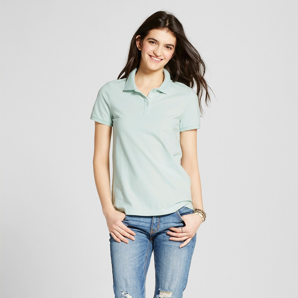 Womens Polo Shirt - Mossimo Supply Co. Aqua (Blue) XL