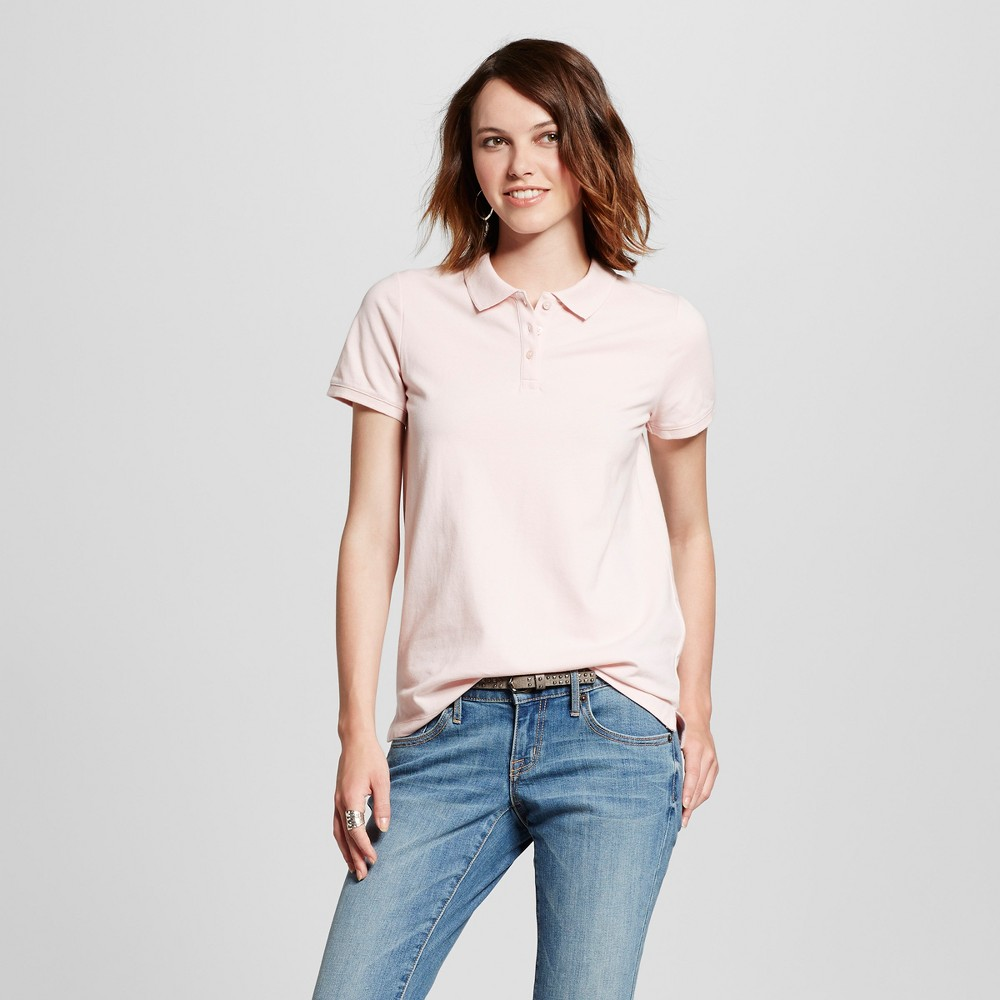 Womens Polo Shirt - Mossimo Supply Co. Light Pink L
