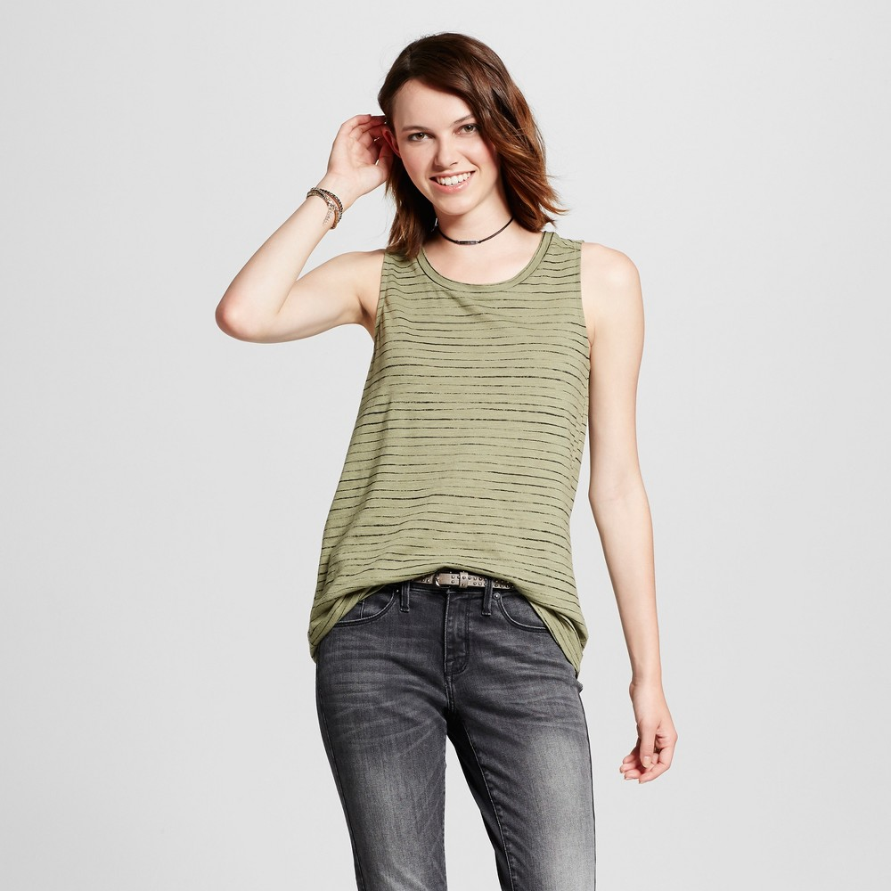 Womens Muscle Tank Top - Mossimo Supply Co. Olive (Green) Xxl