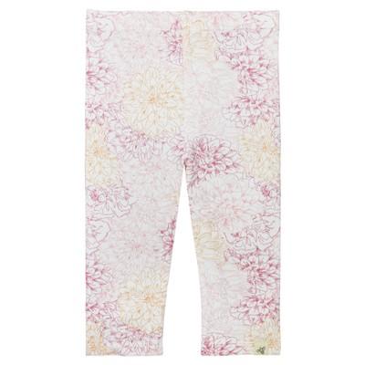 Burt's Bees Baby® Girls' Organic Garden Floral Capri Leggings - 0-3M