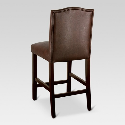 Camelot 25quot Counter Stool Faux Leather Brown Threshold  : 51761030Alt03wid520amphei520ampfmtpjpeg from www.target.com size 520 x 520 jpeg 26kB