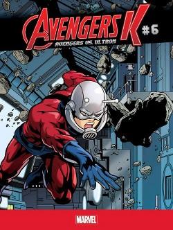 Avengers Vs. Ultron (Vol 6) (Library) (Jim Zub)