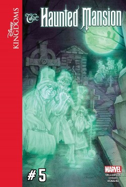 Disney Kingdoms : The Haunted Mansion (Vol 5) (Library) (Joshua Williamson)