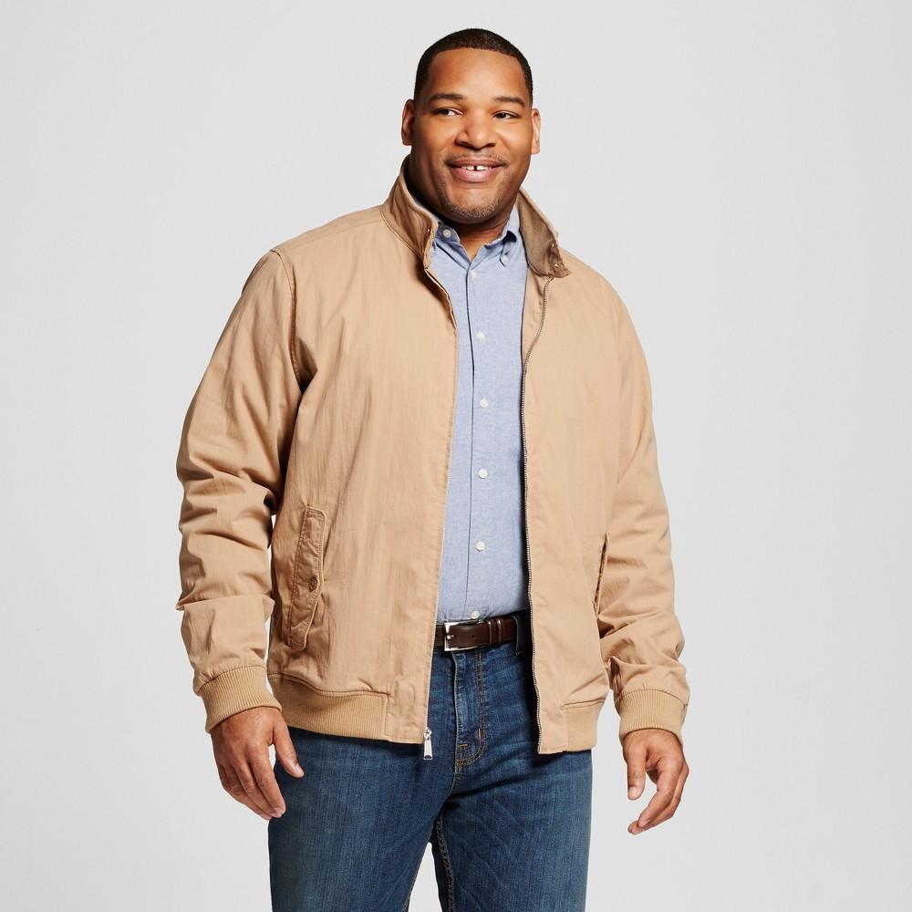 Mens Big & Tall Harrington Jacket Khaki (Green) 4XB - Merona Khaki 4XB