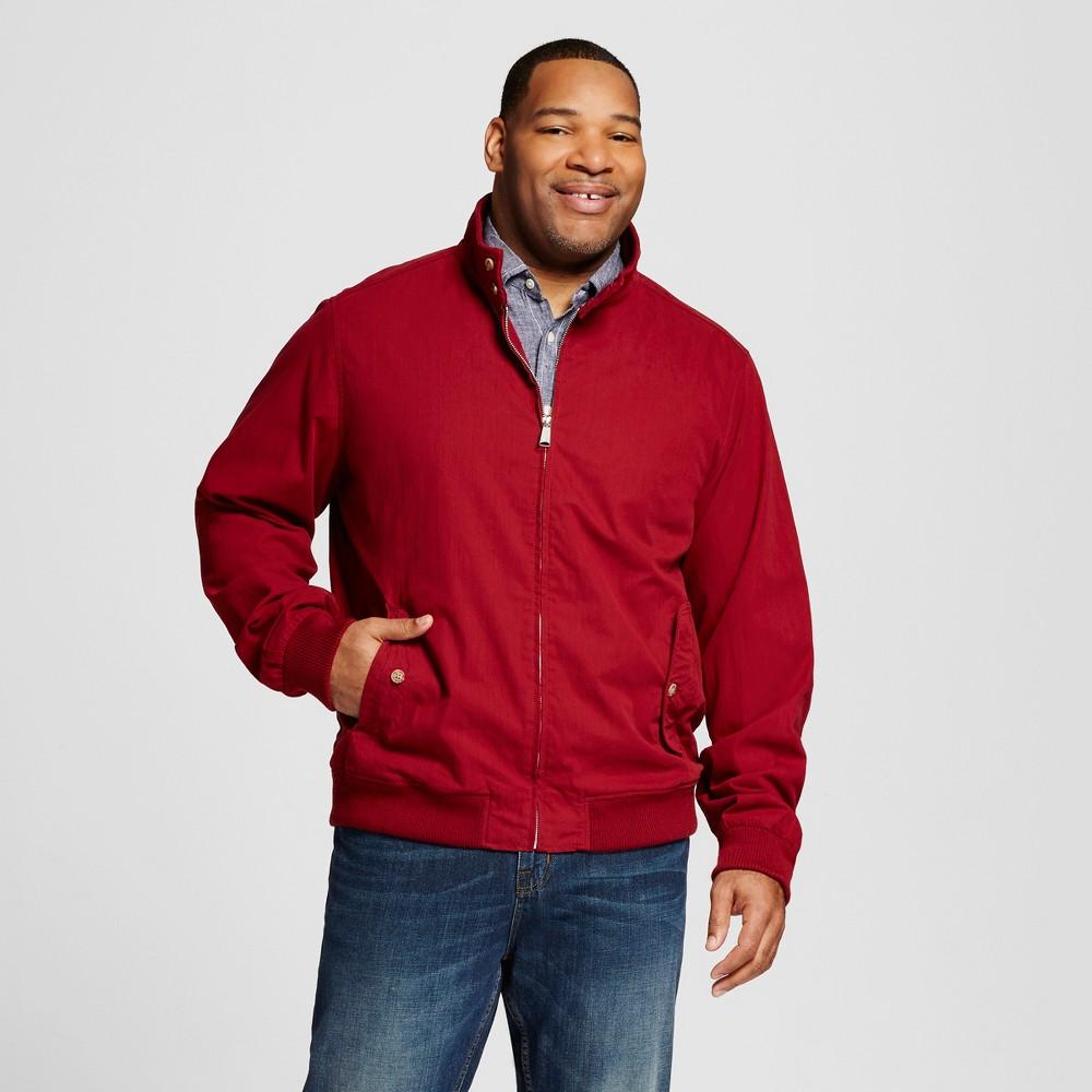 Mens Big & Tall Harrington Jacket - Merona Red 5XB Tall, Size: 5XBT