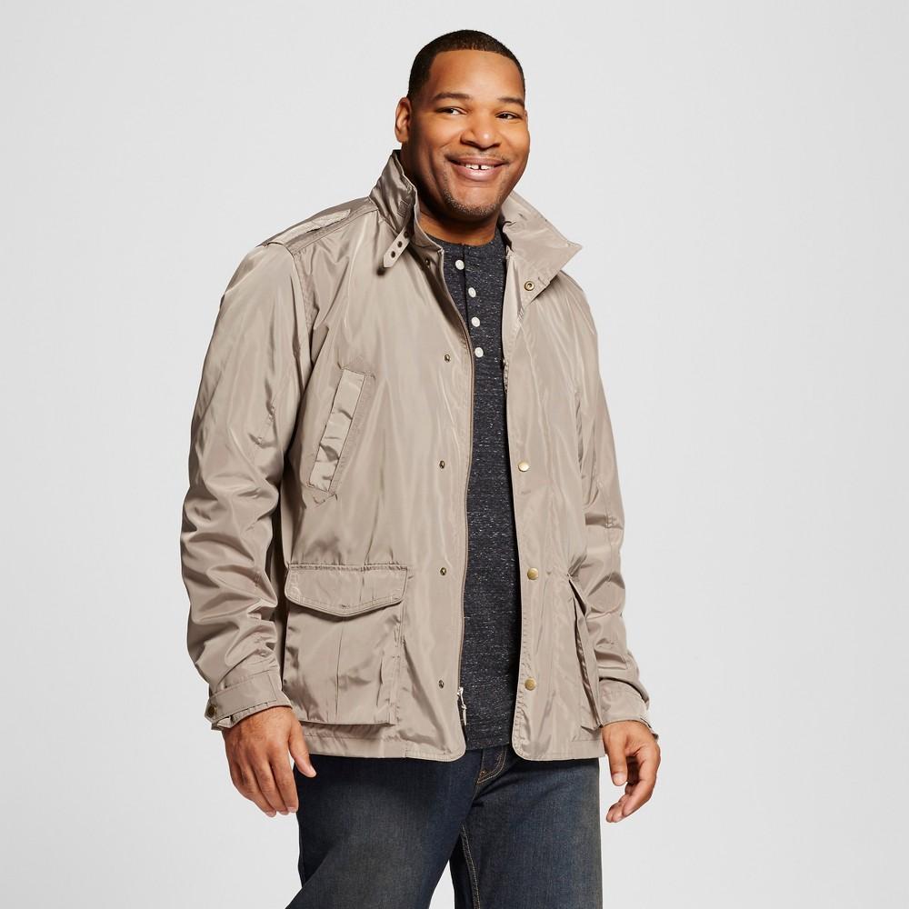 Mens Big & Tall Nylon Field Jacket - Merona Tan 4XB Tall, Size: 4XBT