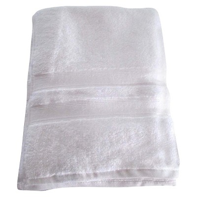 Bath Sheet - White - Express By Micro Cotton