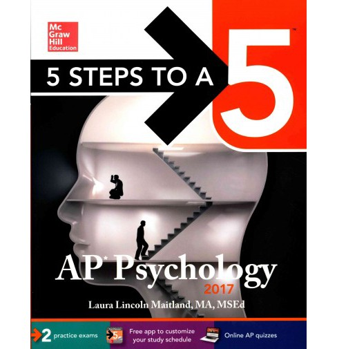 McGraw-Hill 5 Steps to A 5 AP Psychology 2017 (Paperback) (Laura Lincoln Maitland) - image 1 of 1