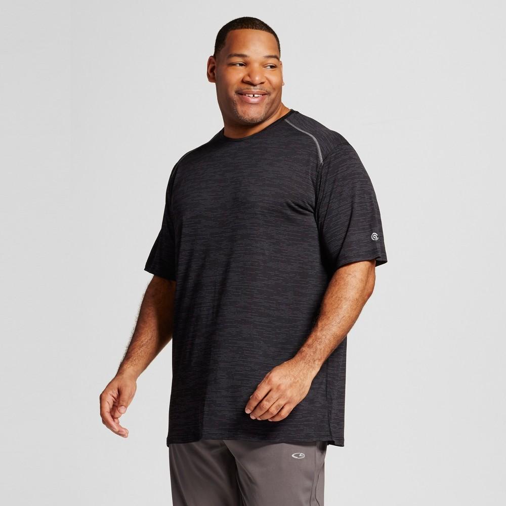 Mens Tall Premium Tech T-Shirt - C9 Champion Black Heather Xlt