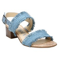 Women's Sam & Libby Ivette Low Heeled Quarter Strap Sandals. opens in a new tab.