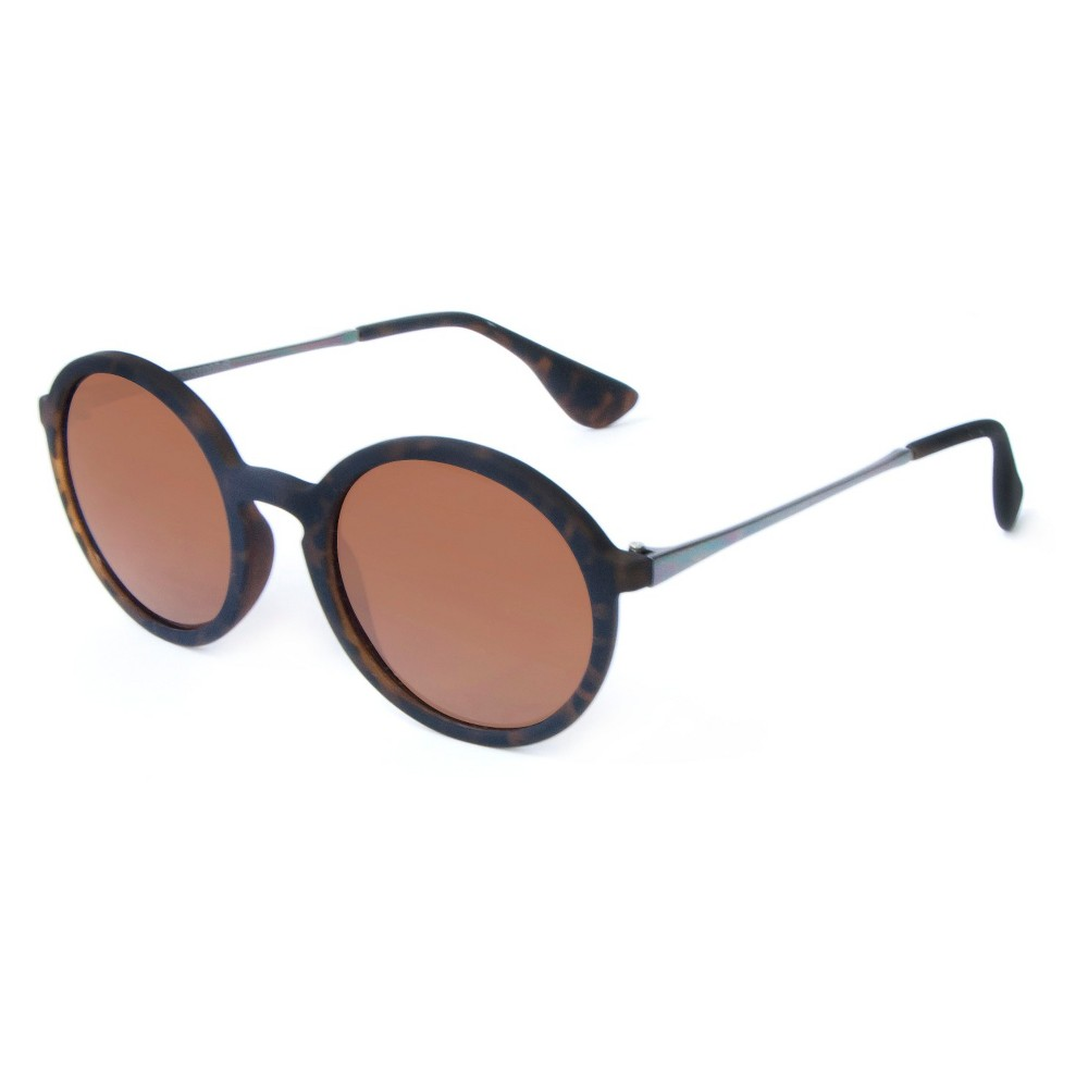 1910s -1920s Sunglasses, Eyeglasses Round Plastic Sunglasses - Tortoise Adult Unisex Brown $16.99 AT vintagedancer.com