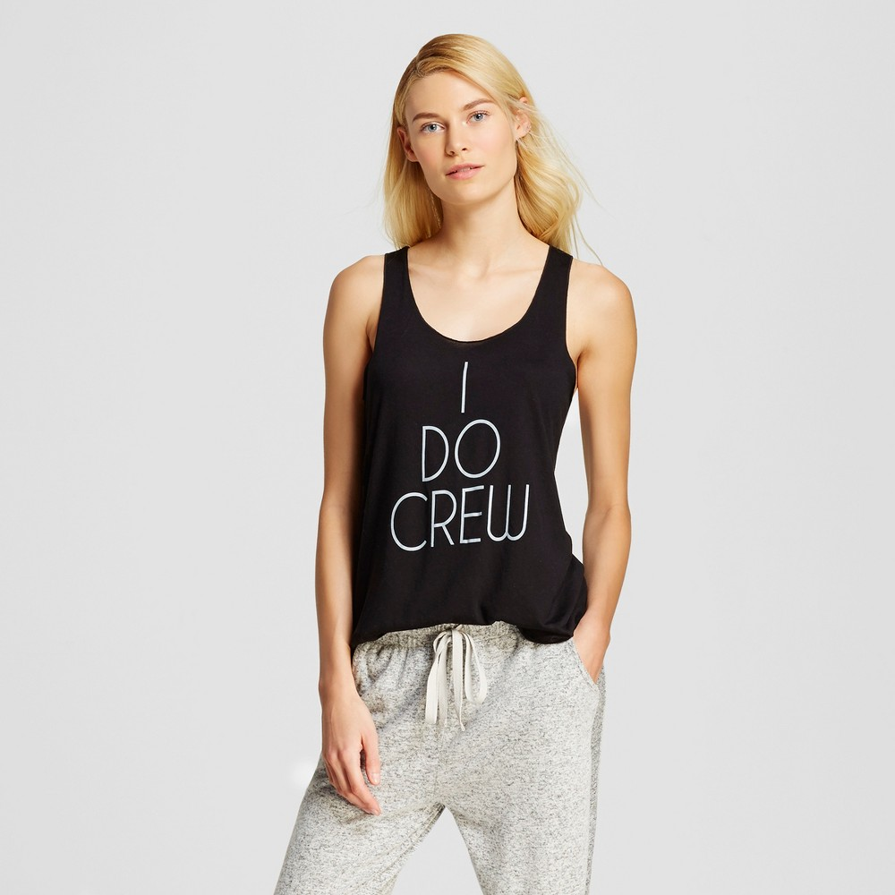 Love and Cherish Women's I Do Pajama Tank – Black XL