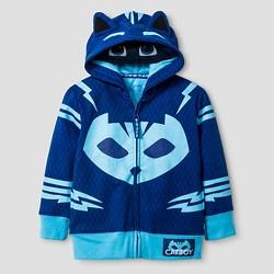 PJ Masks Toddler Boys' Catboy Costume Hooded Sweatshirt - Blue