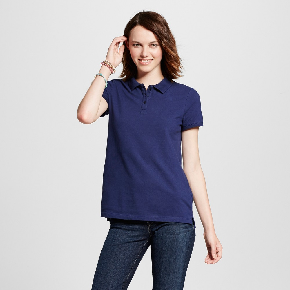 Womens Polo Shirt - Mossimo Supply Co. Navy (Blue) L