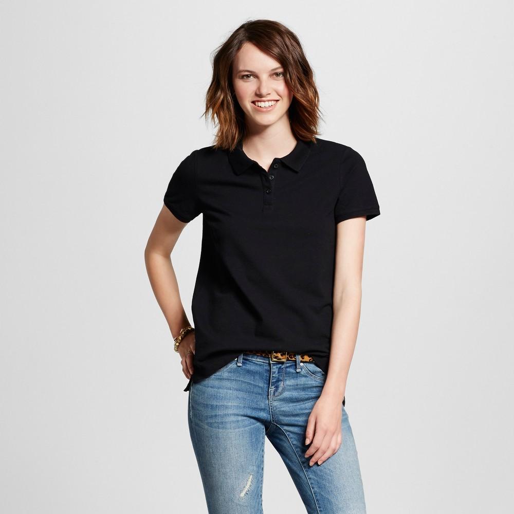 Womens Polo Shirt - Mossimo Supply Co. Black S