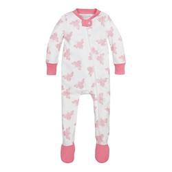 Burt's Bees Baby® Girls' Organic Snuggle Bee Sleeper - Light Pink