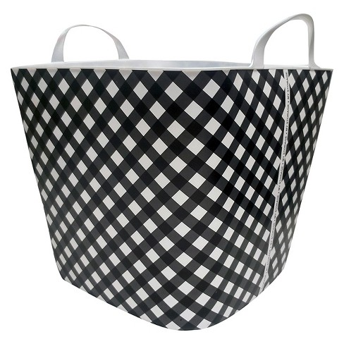 Utility Storage Tubs And Totes - Black White - Life Story - image 1 of 1