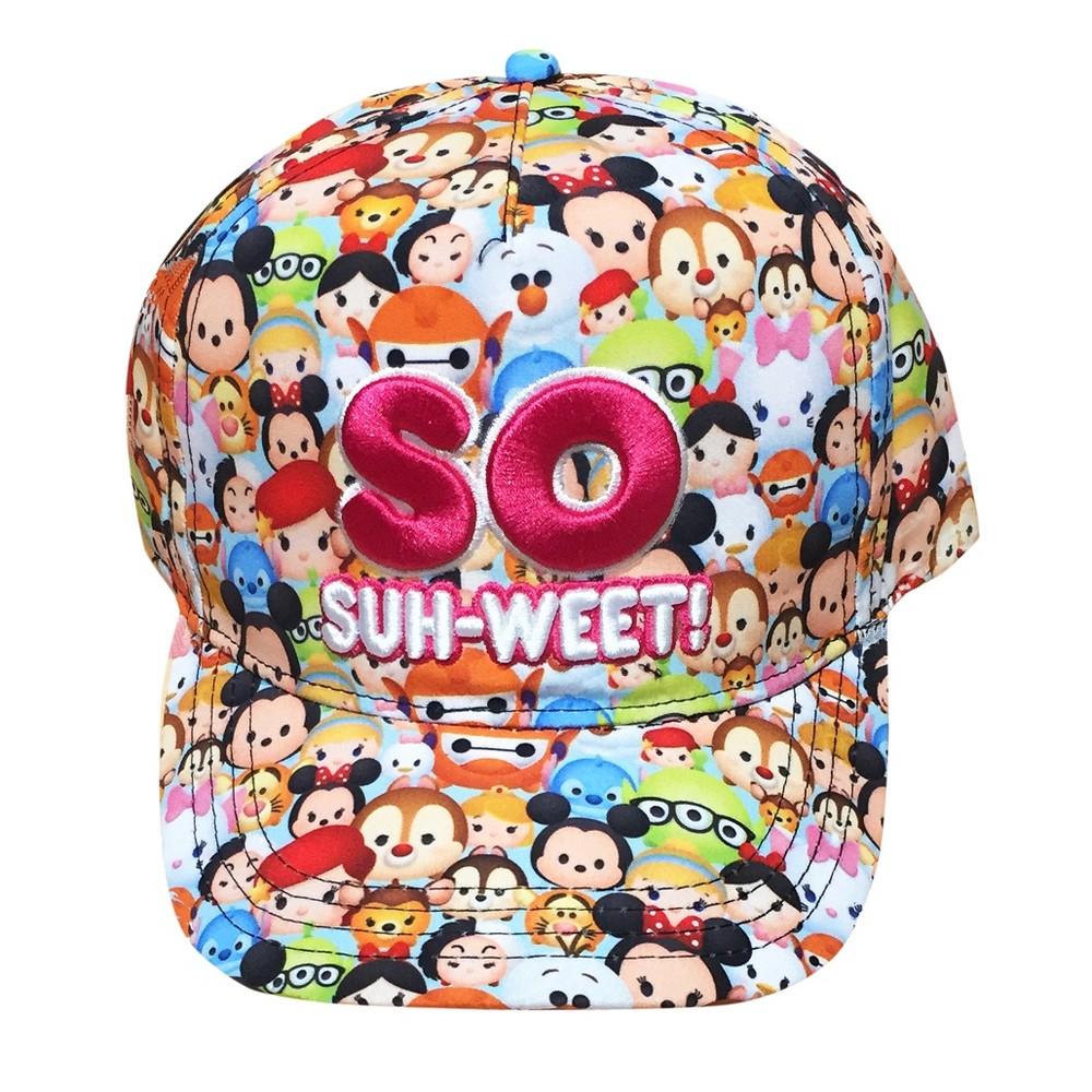 Girls Disney Tsum Tsum Baseball Hat - One Size, Multi-Colored