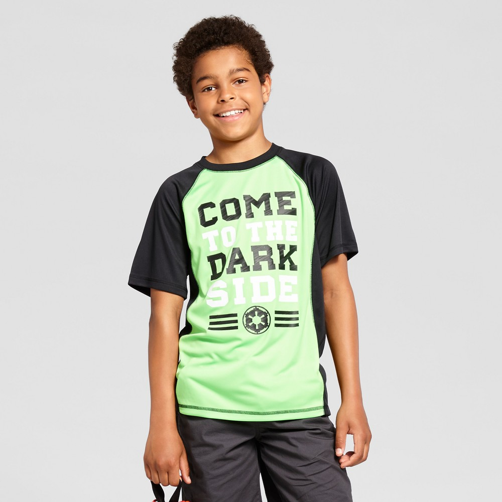 Boys Star Wars Activewear T-Shirt- Green XL