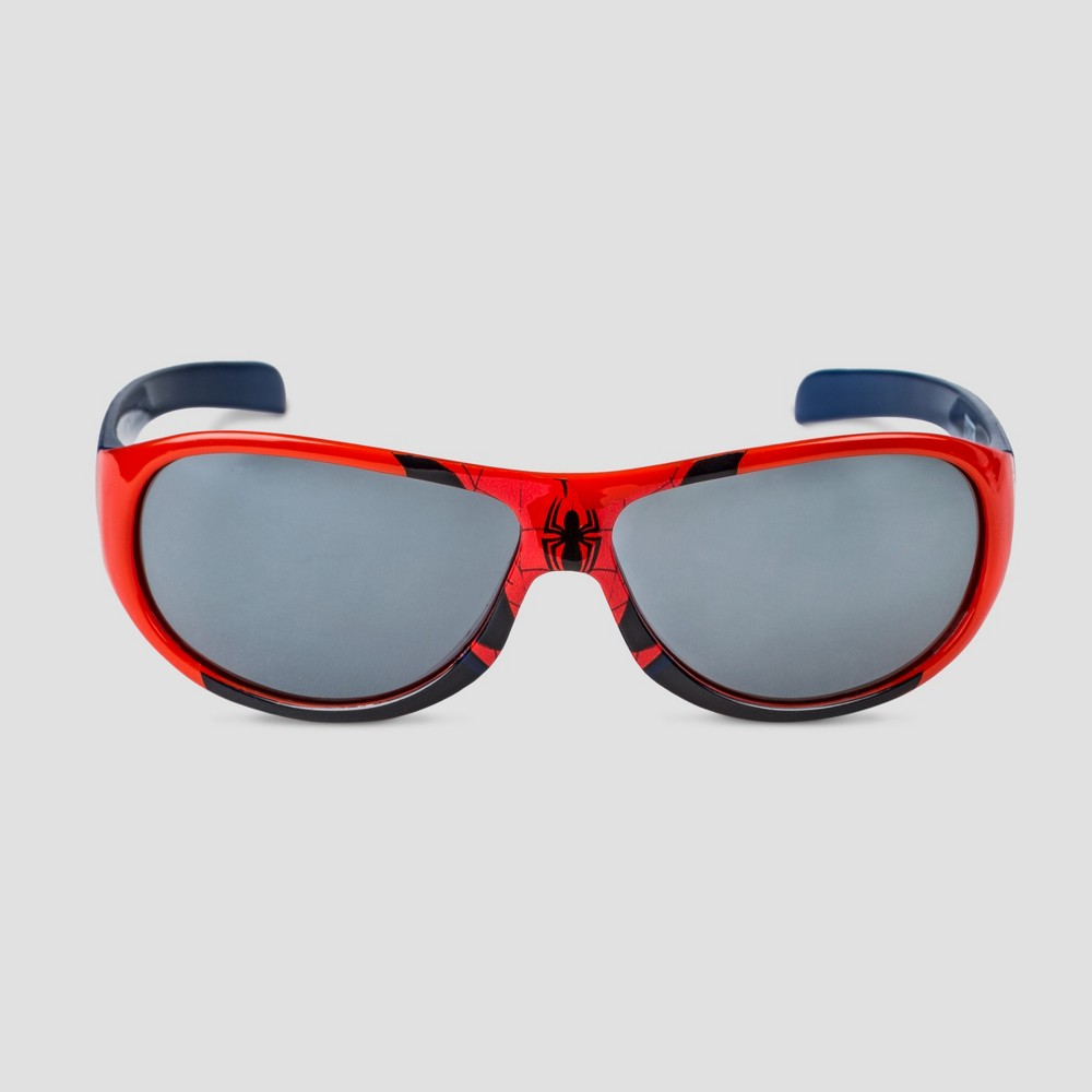 Toddler Boys Spider-Man Sunglasses - Red