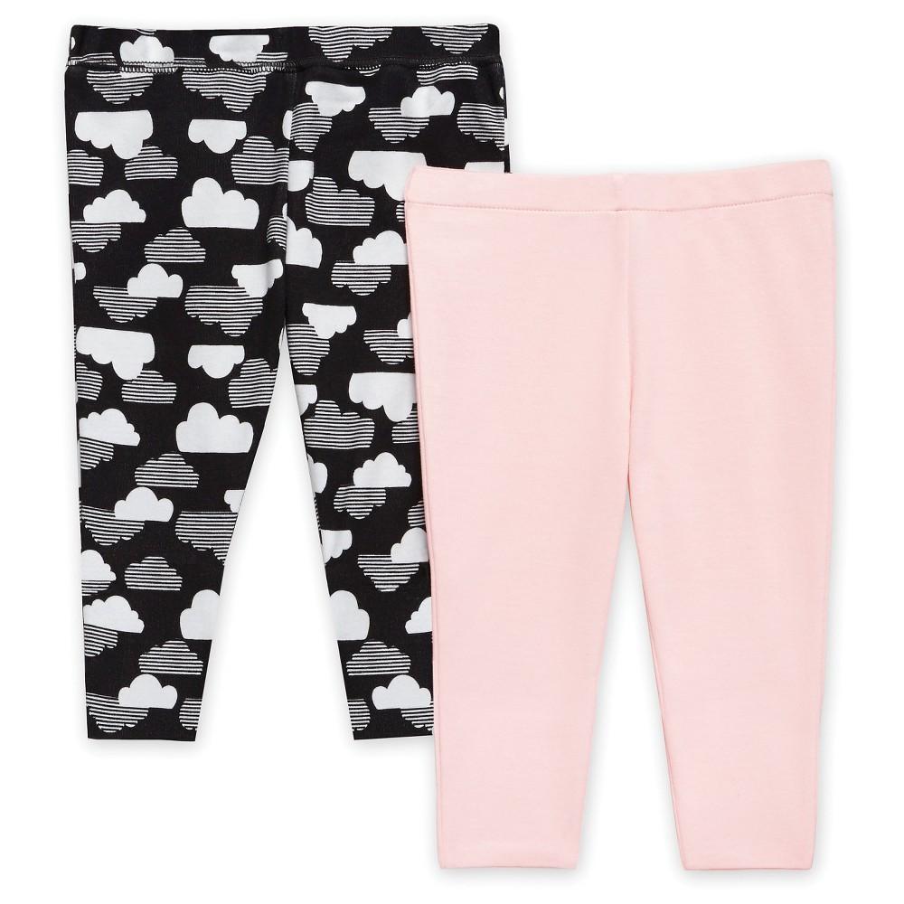 Skip Hop Star Struck Baby Girls Leggings Pants Set - Pink 6M, Size: 6 M