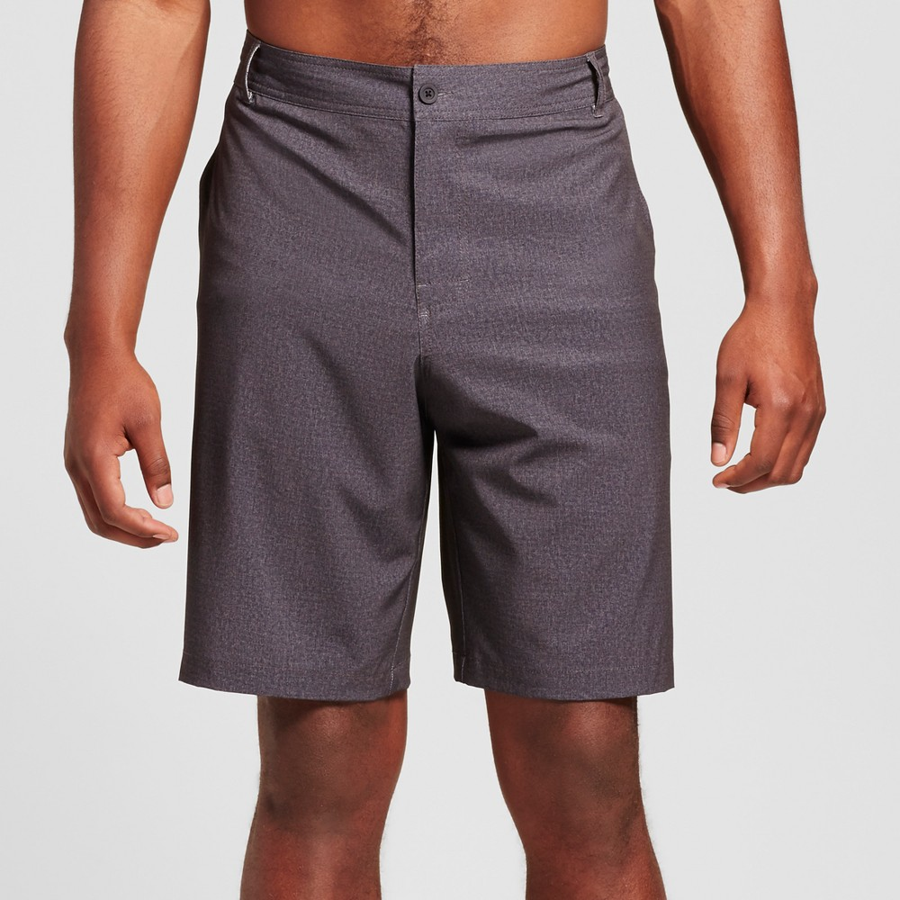 Mens Big & Tall Textured Hybrid Swim Shorts - Mossimo Supply Co. Black 54