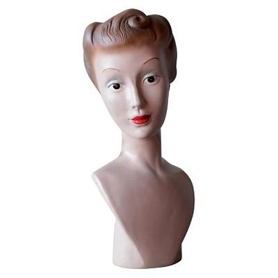 Resin Vintage Mannequin Bust - 3R Studios