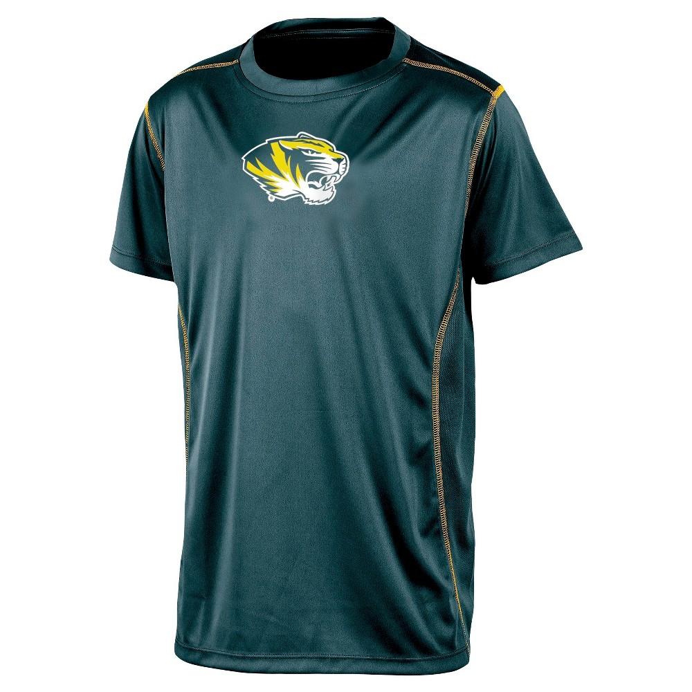 NCAA Missouri Tigers Boys' Performance T-Shirt - S, Multicolored