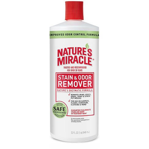Nature's Miracle Pour Pet Stain Remover - 32 Oz - image 1 of 1