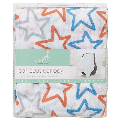 Aden by Aden + Anais Car Seat Canopy - Small Fry
