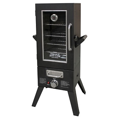 Gas Smoker 36  Outdoor Leisure Products - Black - Smoke Hollow