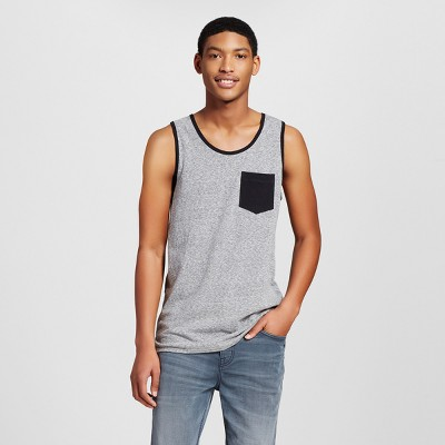 c45e4c4cad293c Mens Tank Top with Pocket – Mossimo Supply Co.™ Charcoal L – Target ...