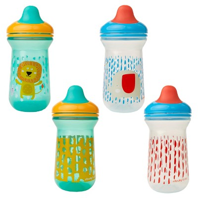 Cheeky® Baby Sippy Cups - Lion & Elephant -2ct