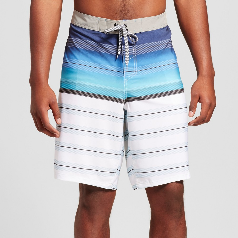 Mens Big & Tall Board Shorts - Mossimo Supply Co. Blue 44
