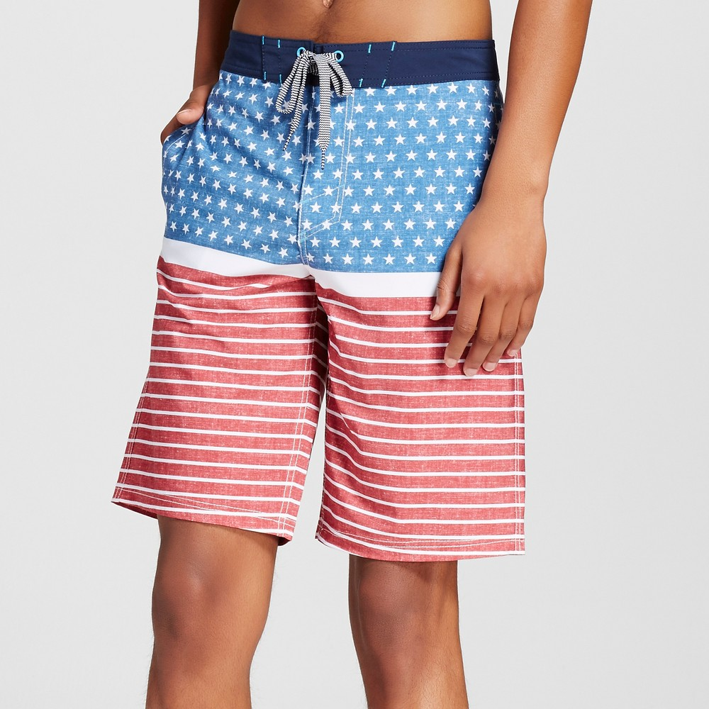 Mens Board Shorts - Mossimo Supply Co. Red 30
