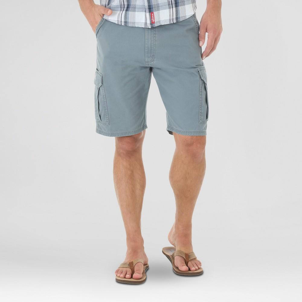 Wrangler Mens Twill Cargo Shorts - Blue 40