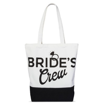 Love and Cherish Women's Brides Crew Tote - Natural
