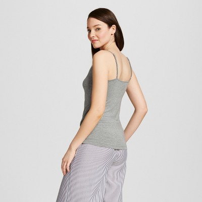 Women's Sleep Camisoles - Medium Heather Gray Xxl