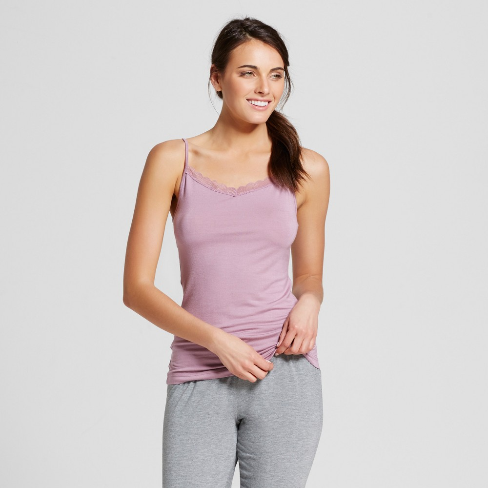 Womens Sleep Camisoles - Blackberry Cream XL