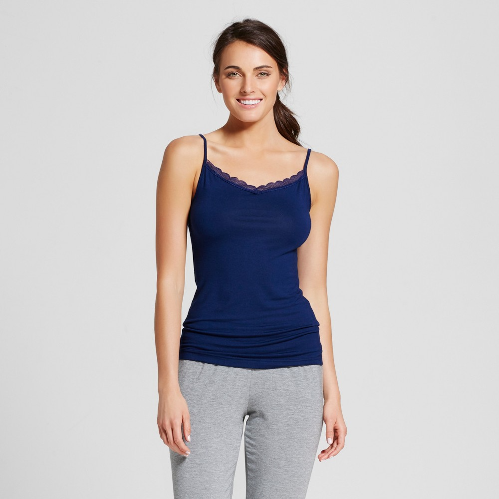 Womens Sleep Camisoles - Nighttime Blue XL