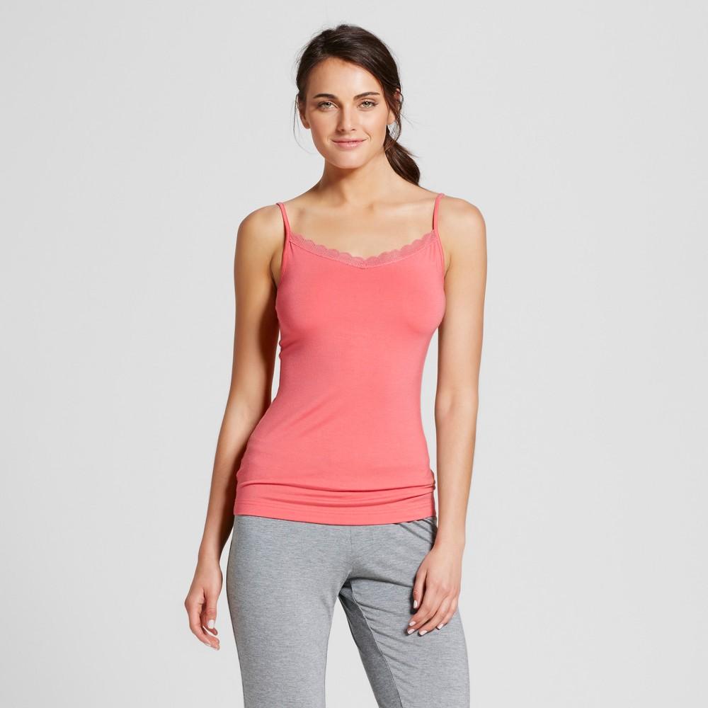 Womens Sleep Camisoles - Fifties Pink XS