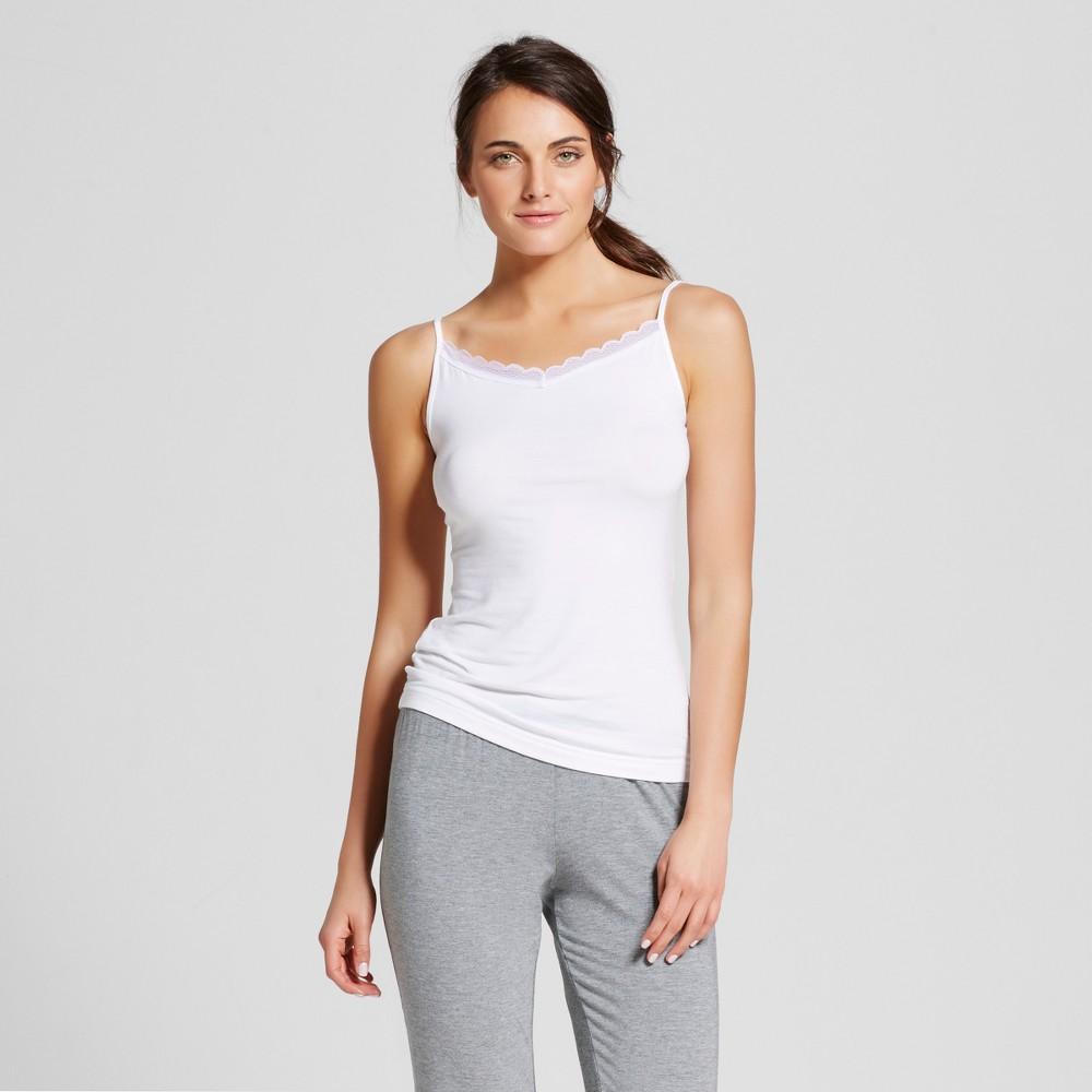 Womens Sleep Camisoles - White XL