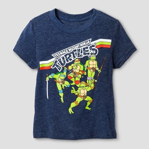 Teenage mutant ninja turtles toddler boys tortuga ninjas for Where can i buy ninja turtle shirts