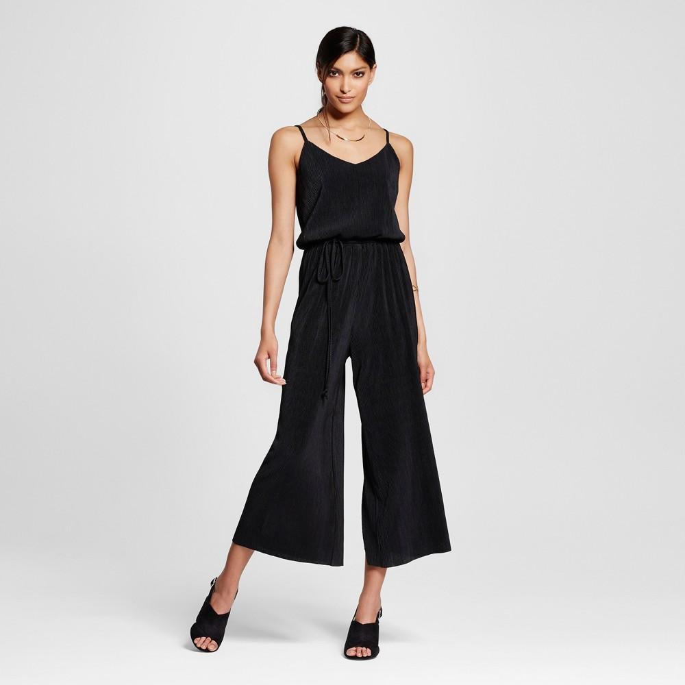 Womens Strappy Crop Jumpsuit - Xhilaration (Juniors) Black XL