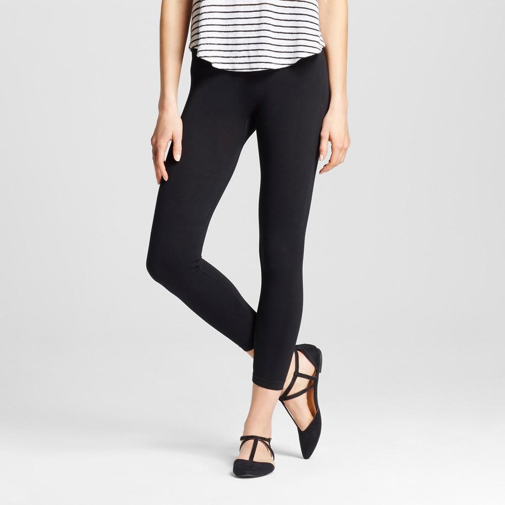 Women's Seamless Leggings - Merona Black S/M
