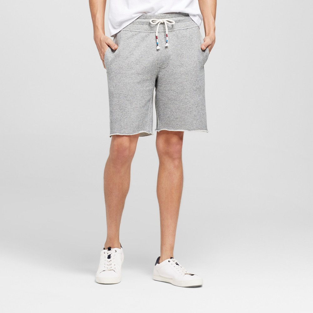 Mens Athleisure Knit Lounge Shorts - Mossimo Supply Co. Light Gray S