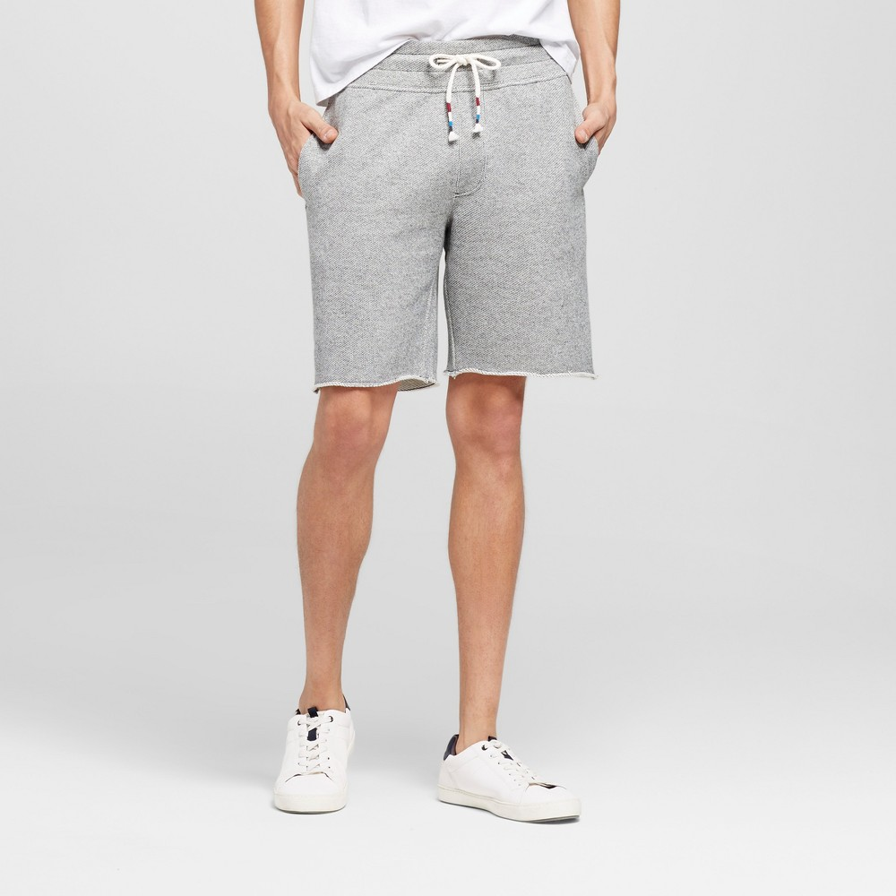 Mens Athleisure Knit Lounge Shorts - Mossimo Supply Co. Light Gray M